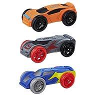 Nerf Nitro 3 db tartalék autó, vegyes színek - Játék kiegészítő