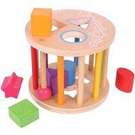 Készségfejlesztő játék Bigjigs henger alakú játék - Didaktická hračka