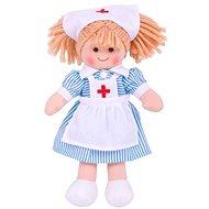 Bigjigs rongybaba - Nancy nővér 25 cm - Baba