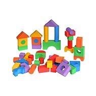 Alltoys színes építőkockák, 50 db - Építőjáték