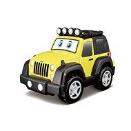 Jeep fénnyel és hanggal - Játékautó