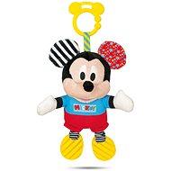 Clementoni Mickey plüss hanggal és fogantyúval - Babajáték