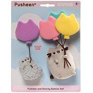 Pusheen és Stormy Baloon szett - Plüssjáték