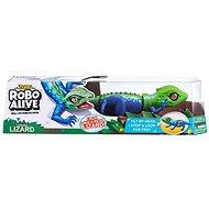 Robo Alive Zöld gyík - Plüssjáték