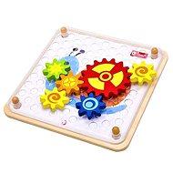 Jigsaw puzzle lánckerék - Fajáték