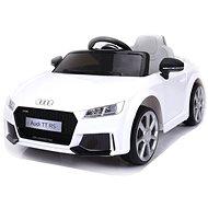 Audi TT RS gyermekjármű, fehér - Elektromos autó gyerekeknek