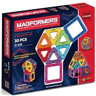 Magformers mágneses építőkészlet, szivárványszínű - Mágneses építőjáték