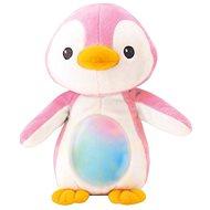 Pingvin alvóka - rózsaszín - Éjszakai fény