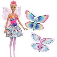 Barbie Flying Fairy with Wings - Szőke hajú - Baba