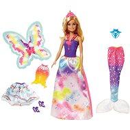 Barbie tündér baba és tündér ruha szett