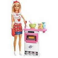 Barbie Főző-Sütő Játékkészlet - Baba