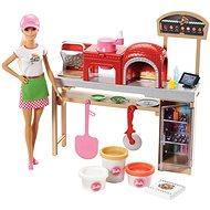 Barbie Sütés-főzés Pizza játékszett - Baba