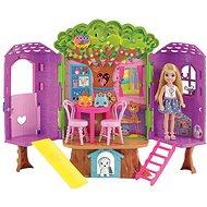 Barbie Chelsea és házikó a fán - Baba
