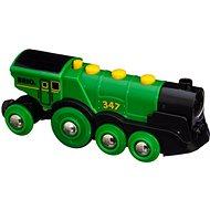 Brio World 33593 Nagy zöld akció mozdony - Vonat