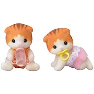 Sylvanian Families Maple Cat Twins - Játékszett
