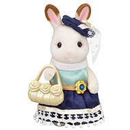 Sylvanian Families Town Girl Series - Chocolate Rabbit - Játék szett