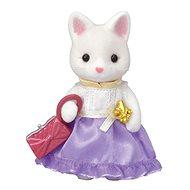 Sylvanian Families Town Girl Series - Silk Cat