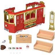 Sylvanian Families Town - Ride Along Tram - Játék szett