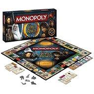 Monopoly A Gyűrűk Ura, ENG - Társasjáték