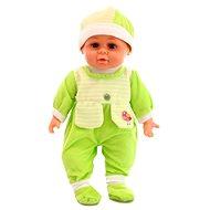 Baba hangeffektusokkal - zöld - Baba