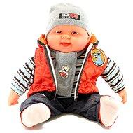 Kisbaba fiú - narancsszínű mellény - Baba