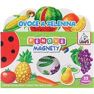 Szivacsos mágnesek - zöldség képek