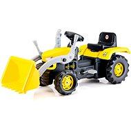 Dolu Nagy pedálos traktor markolóval - Pedálos traktor