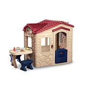 Little Tikes víkendház piknik asztallal - üvegház