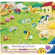 Ravensburger 036837 Kis Farm - Puzzle