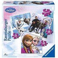 Ravensburger 072767 Disney Jégvarázs Anna, Elsa és barátaik - Puzzle