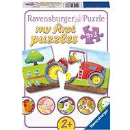 Ravensburger 073337 A tanyán - Puzzle