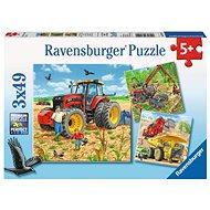 Ravensburger 80120 Mezőgazdasági gépek - Puzzle