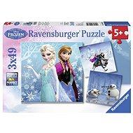 Ravensburger 92642 Disney Jégvarázs: kaland a hóban - Puzzle