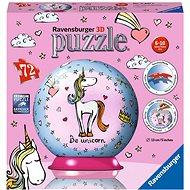Ravensburger 118410 3D Unicorn puzzle gömb - 3D puzzle