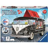 Ravensburger 3D 125258 puzzle - Volkswagen T1 mobil büfé - 3D puzzle