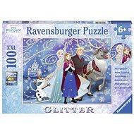 Ravensburger 136100 Disney Jégvarázs és csillogó hó - Puzzle