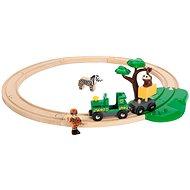 Brio World 33720 - Szafari vasúti készlet - Kisvasút