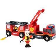 Brio World 33811 Tűzoltókocsi - Építőjáték