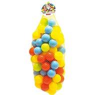 Színes műanyag golyók - 100db - Labda