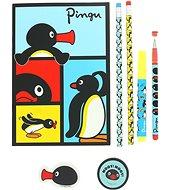 Pingu Super füzet készlet - Kreatív szett