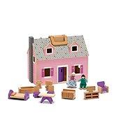 Hordozható ház füllel - Játékszett