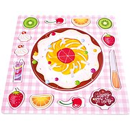 Bino Puzzle Gyümölcsös torta - Puzzle
