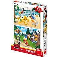 Mickey sportok - Puzzle