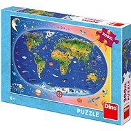 Gyermek térkép - Puzzle