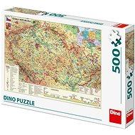 Csehország térképe - Puzzle