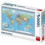 A világ politikai térképe - Puzzle