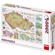 Csehország térkép - Puzzle