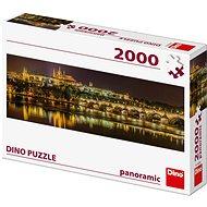 Károly híd éjjel - panoráma - Puzzle