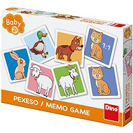 Háziállatok kisgyerekeknek társasjáték - Memóriajáték
