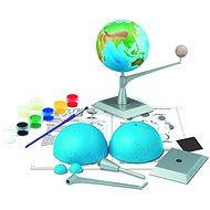 Föld és hold modell - Modell